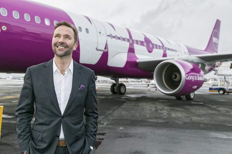 Skuli Mogensen of WOW air