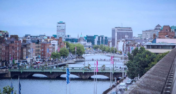 Dublin city skyline by Dublin2020