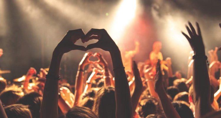 Concert crowd © Anthony DELANOIX