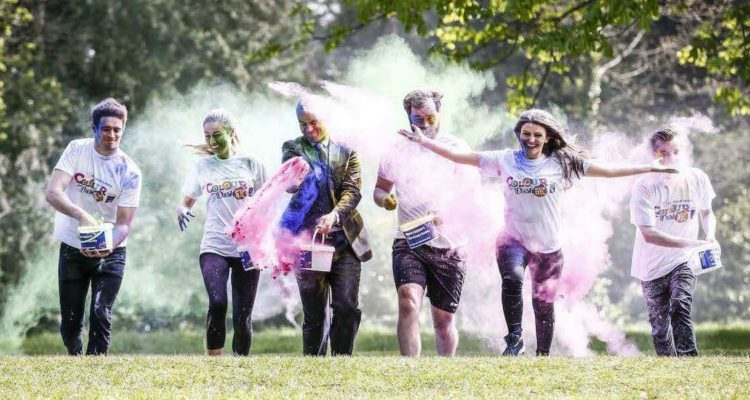Irish Cancer Society Colour Dash 2016