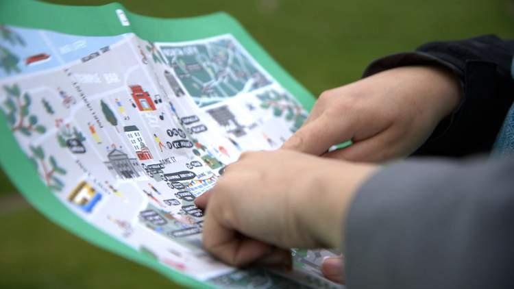 Bloom Fringe map reading
