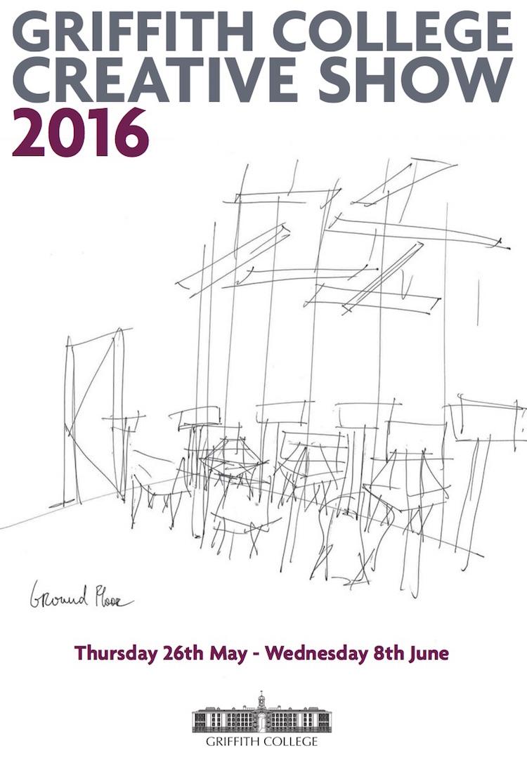 GCD Creative Show 2016 poster