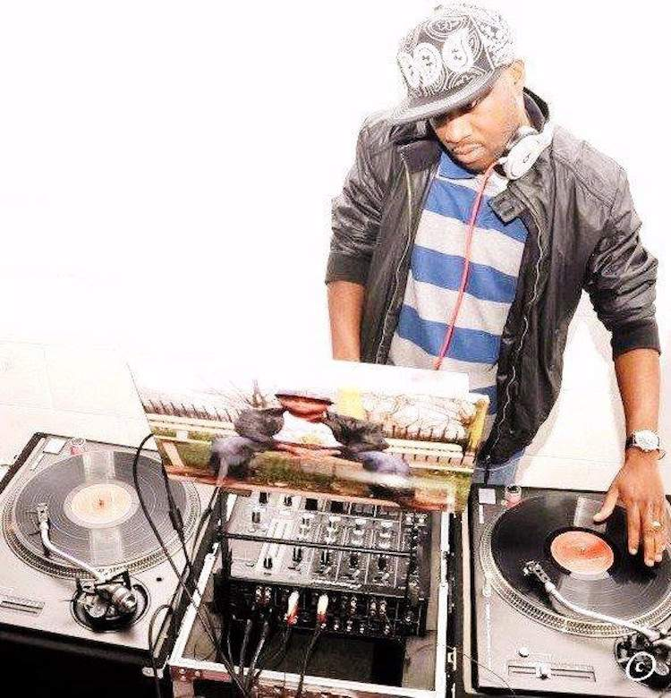 DJ Daley on the decks