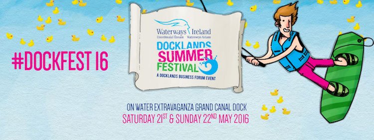 Docklands Summer Festival 2016 banner