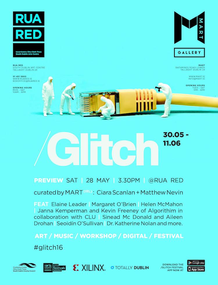 /Glitch Festival poster 2016