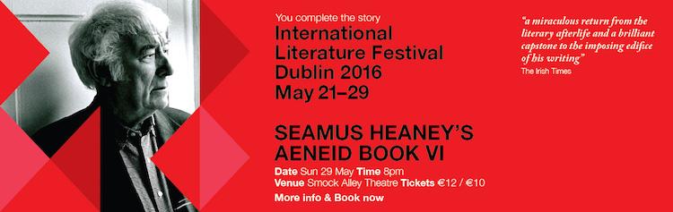 Seamus Heaney banner ILFD 16