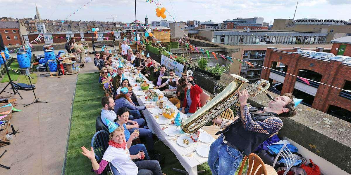 Street Feast rooftop style!