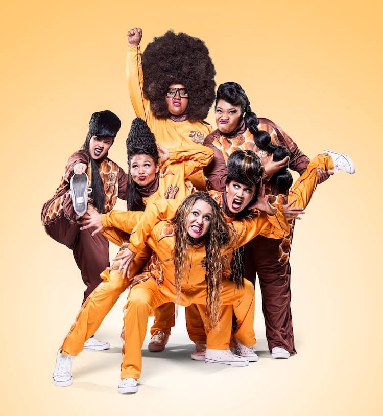Hot Brown Honey Tiger Dublin Fringe