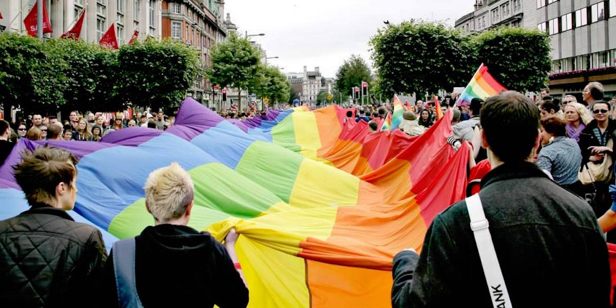 Dublin LGBTQ Pride parade