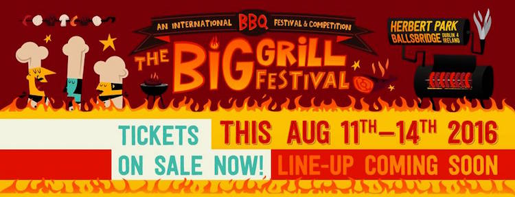 The Big Grill Festival in Dublin
