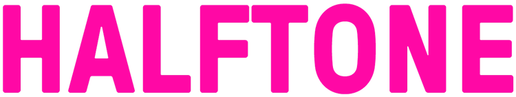 HALFTONE logo
