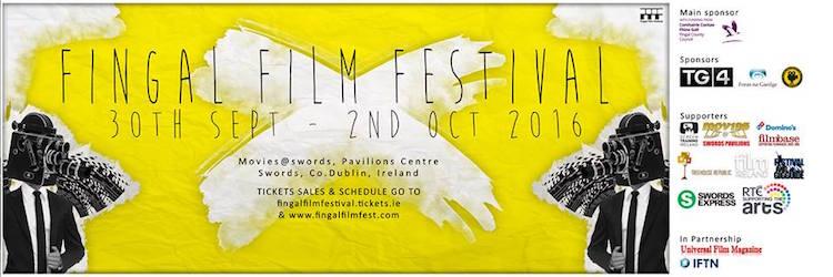 Fingal Film Festival 2016 banner