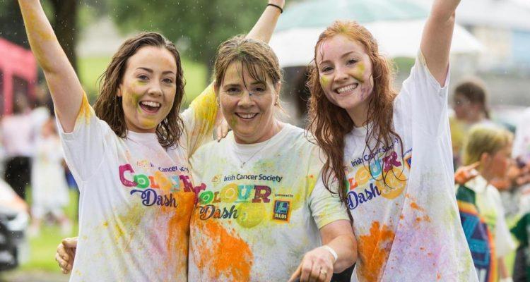 Irish Cancer Society Colour Dash