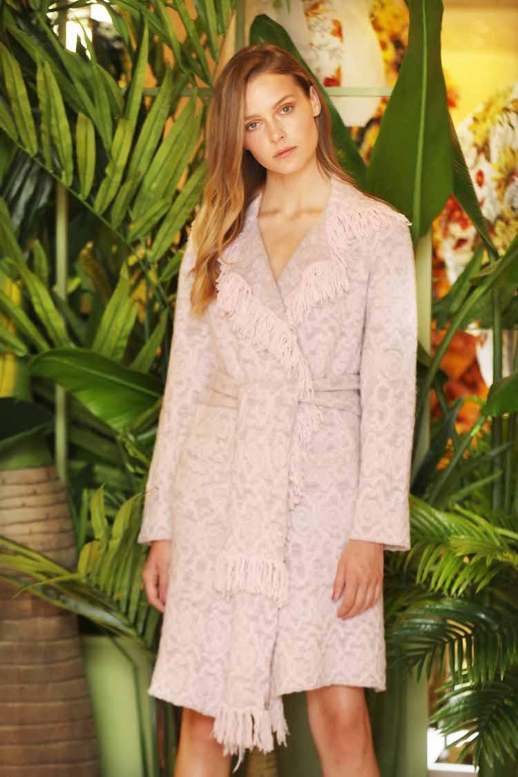 CREATE - Aoibhinn Lane wears Lainey Keogh embroidered coat