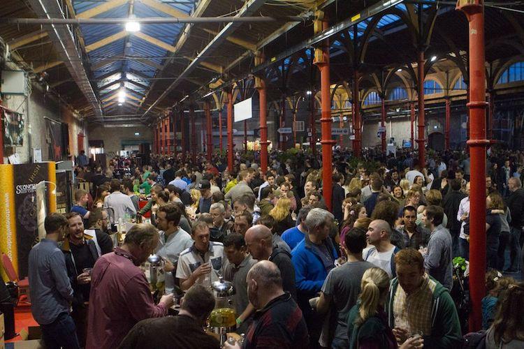 Irish Craft Beer festival crowds